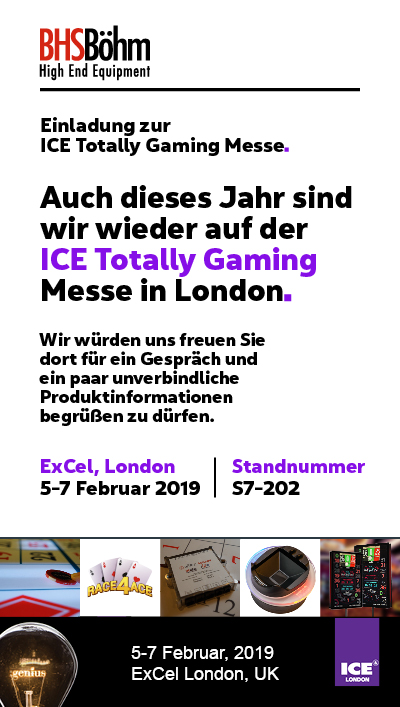 Einladung zur ICE-Messe in London